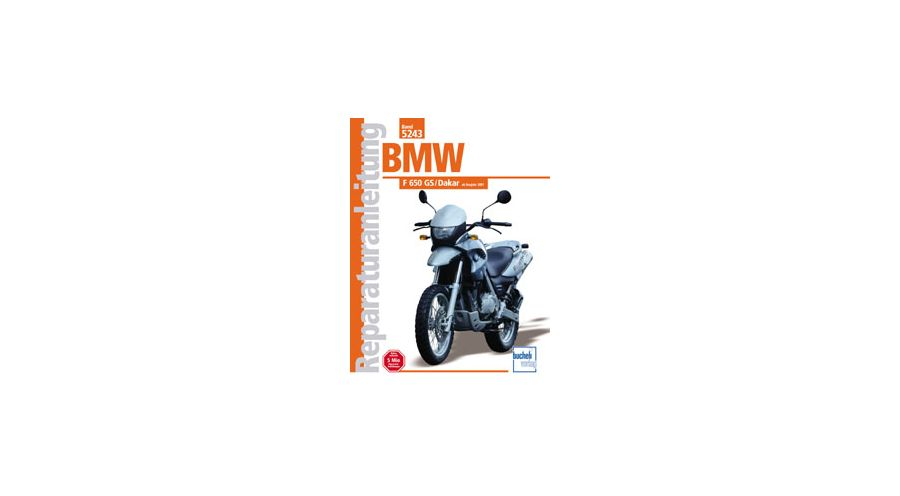 reparaturanleitung bmw f 650 gs dakar motorradzubeh r hornig. Black Bedroom Furniture Sets. Home Design Ideas