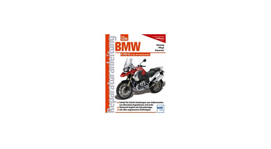 reparaturanleitung bmw r 1200 gs bj 2010 2012. Black Bedroom Furniture Sets. Home Design Ideas