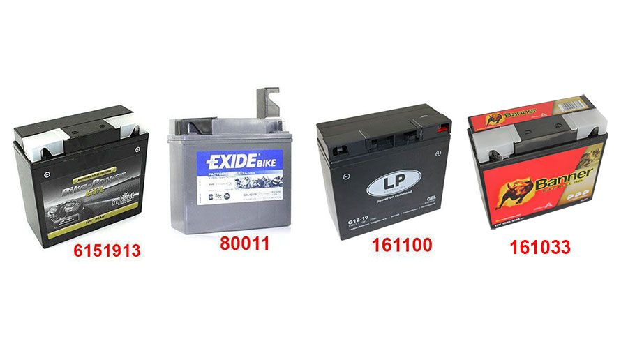 gelbatterie für bmw r1100rt, r1150rt | motorradzubehör hornig