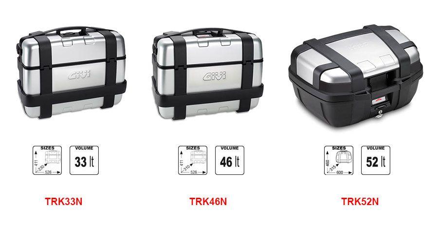 givi trekker koffer für bmw f650gs (08-), f700gs & f800gs