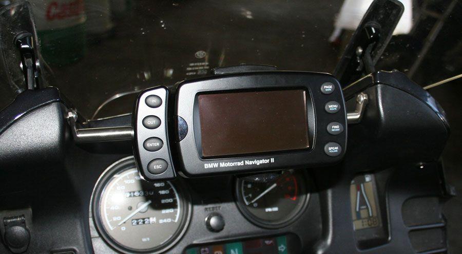 gps halterung für bmw r1100rt, r1150rt | motorradzubehör hornig