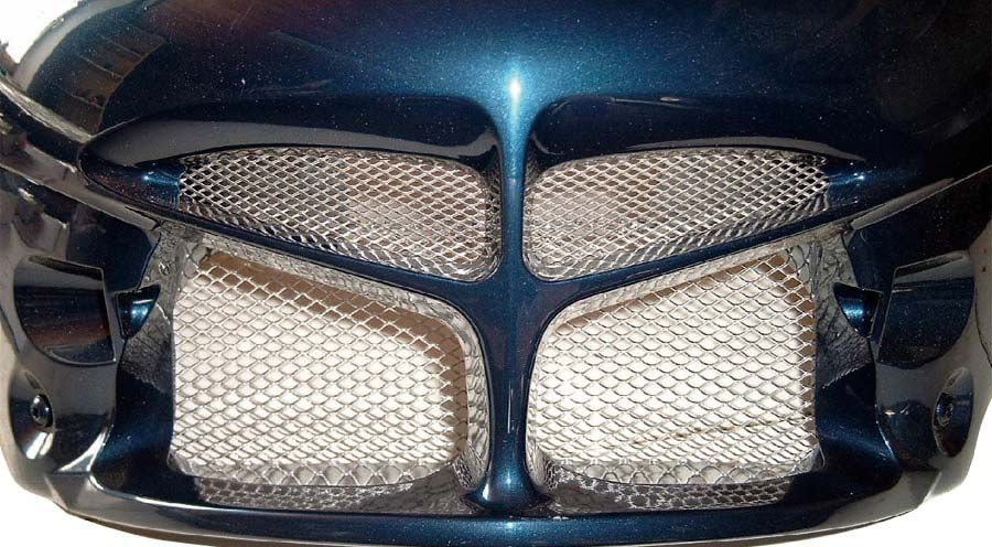 Ölkühlergitter für bmw r1100rt, r1150rt | motorradzubehör hornig