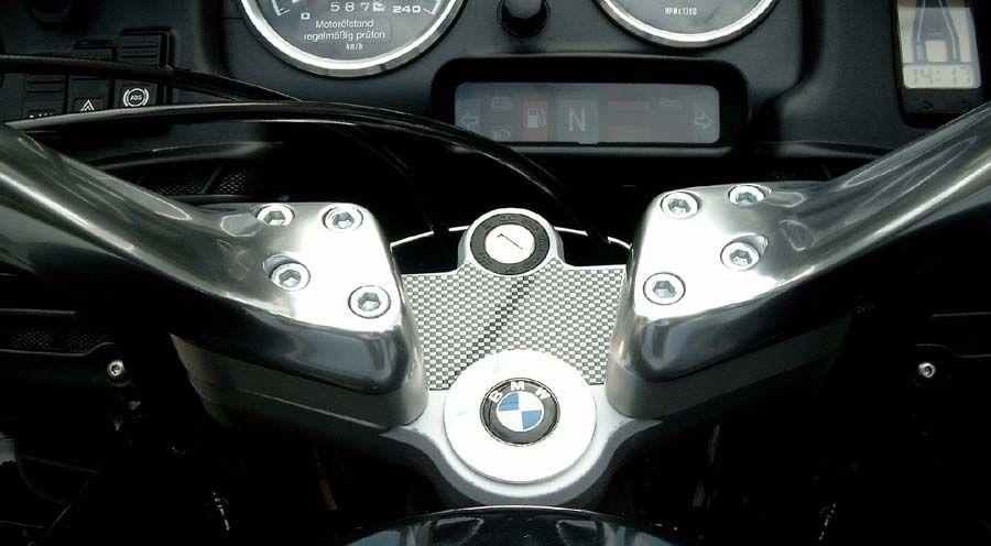 gabelbrückenschutzpad für bmw r1100rt, r1150rt | motorradzubehör hornig