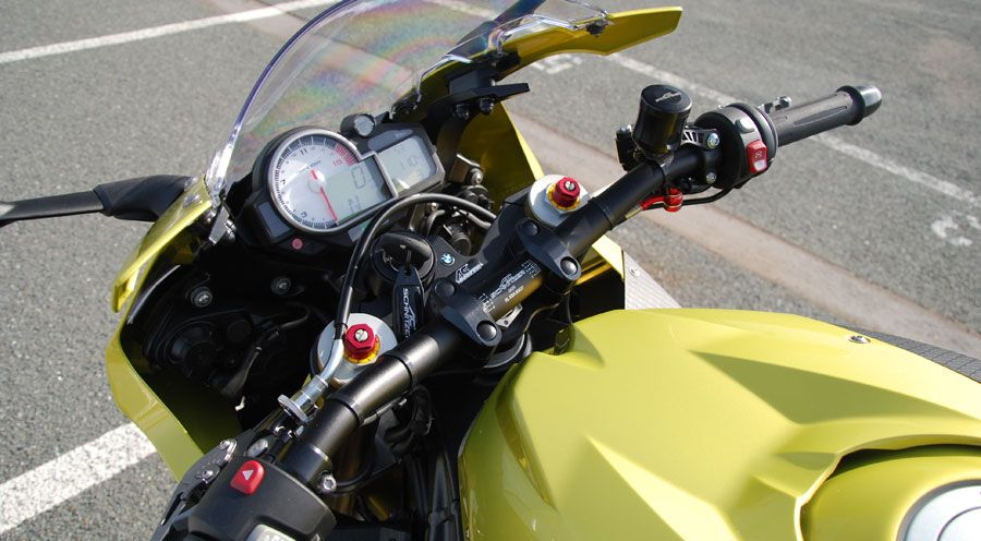 superbike lenker f r bmw s1000rr motorradzubeh r hornig. Black Bedroom Furniture Sets. Home Design Ideas