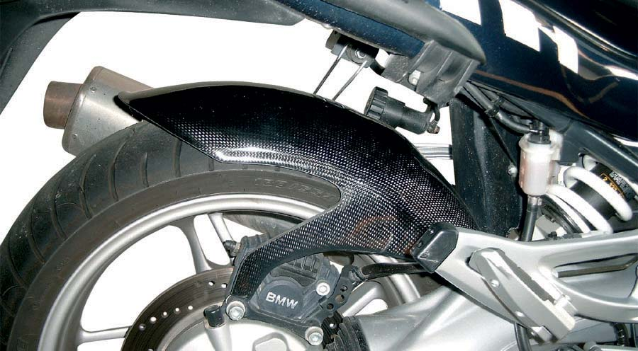 Carbon Kotflügel hinten
