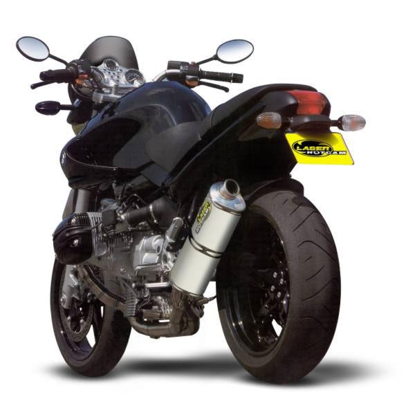 Motorrad Laser