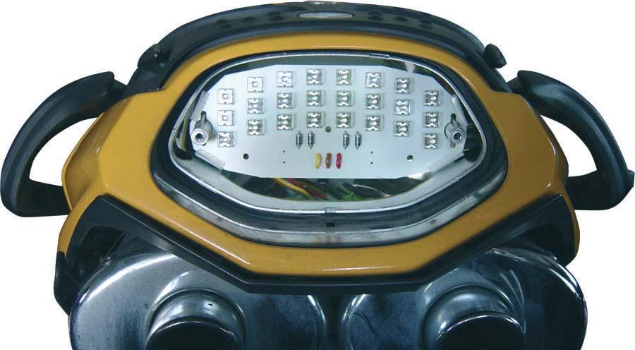 LED Rücklichteinsatz