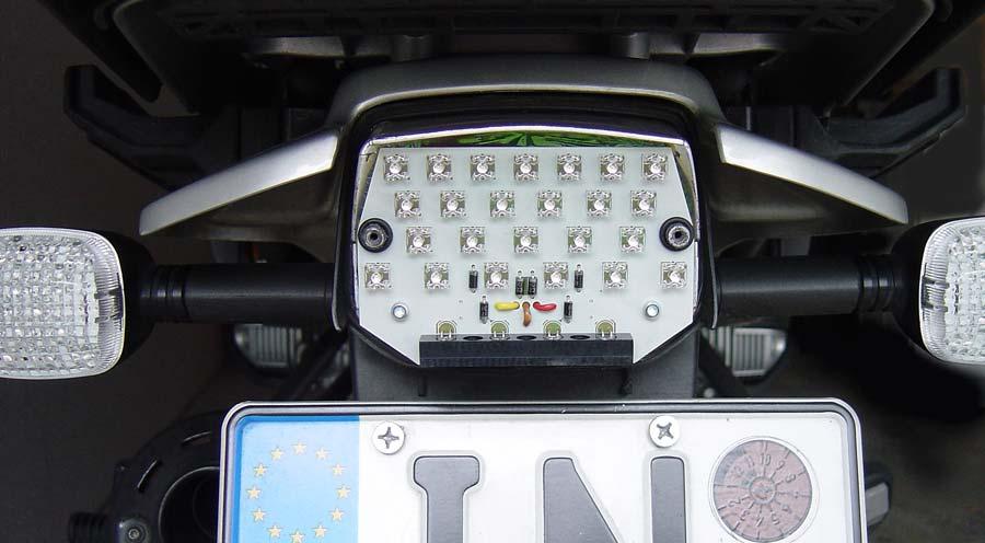 LED Rücklicht Einsatz