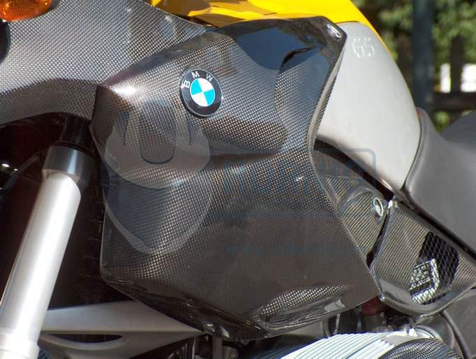 Motorrad Tankseitenteil