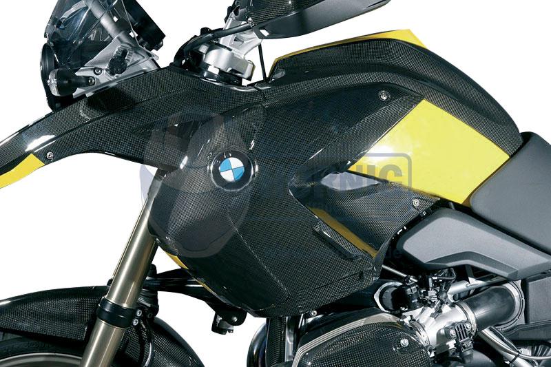 Motorrad Carbon Seitenteile