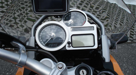 BMW K1200R & K1200R Sport Cockpit Cover