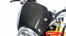 BMW R nine T Carbon Windschild