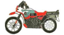 BMW R 100 Modelle Pin R 100 GS PD (rot)