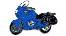 BMW R1100RT, R1150RT Pin R 1100 RT (blau)