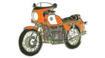 BMW R 80 Modelle Pin R 90 S (orange)