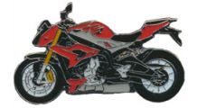 BMW S1000R Pin S 1000 R (rot)