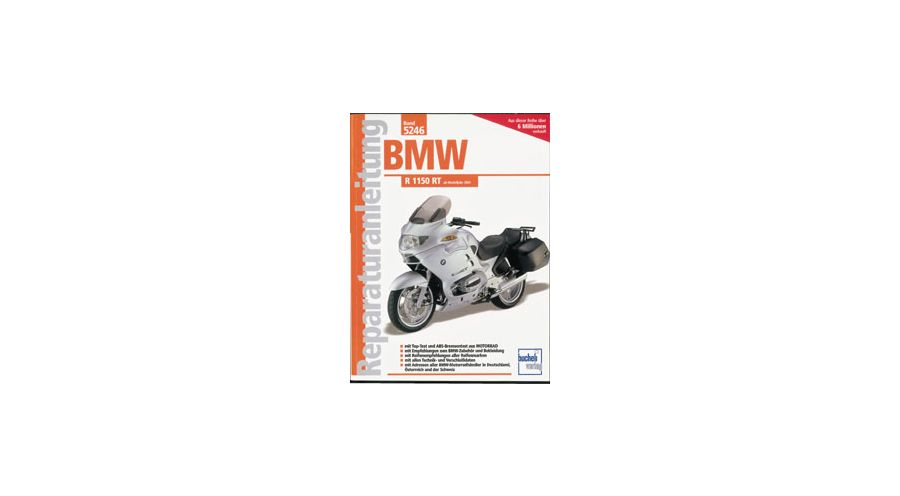 reparaturanleitung bmw r 1150 rt motorradzubeh r hornig. Black Bedroom Furniture Sets. Home Design Ideas