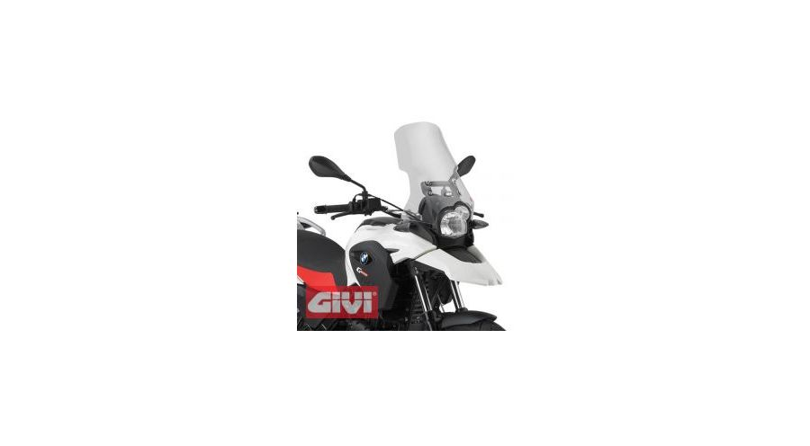 G 650 GS Windschild hoch
