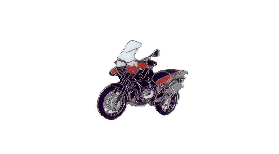 BMW R1200GS, R1200GS Adventure & HP2 Pin R 1200 GS Adv. 2008 (rot)