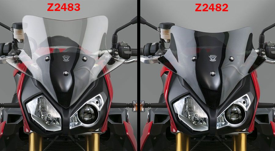 BMW S1000R Windschild