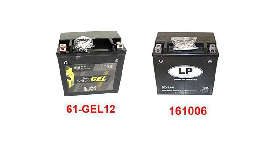 BMW R 1200 RS, LC (2015-) Batterien