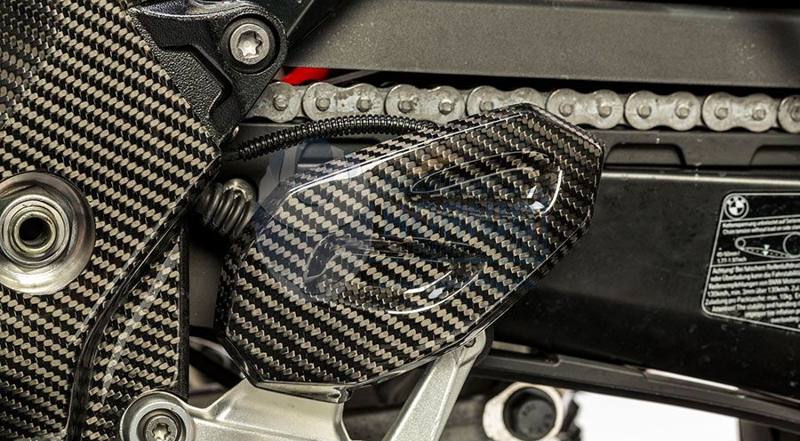 BMW S 1000 XR Carbon Fersenschutz links