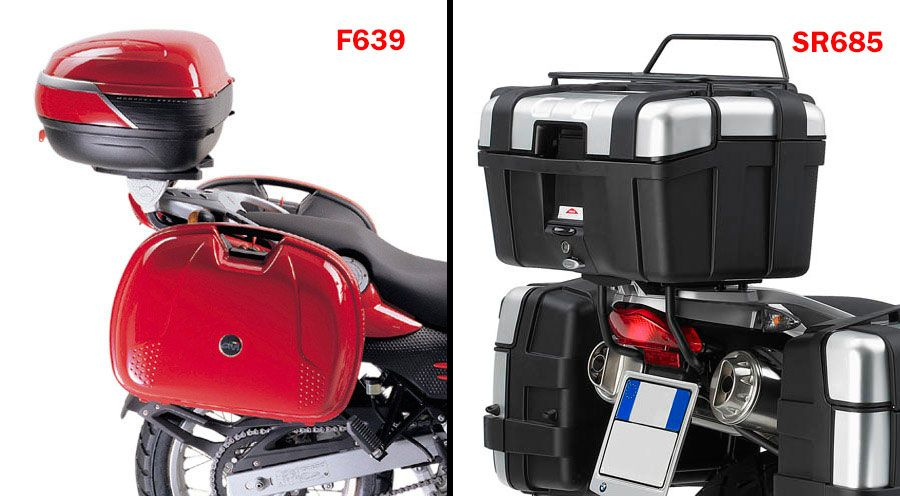 topcasehalterung f r bmw f650gs f650gs pd. Black Bedroom Furniture Sets. Home Design Ideas