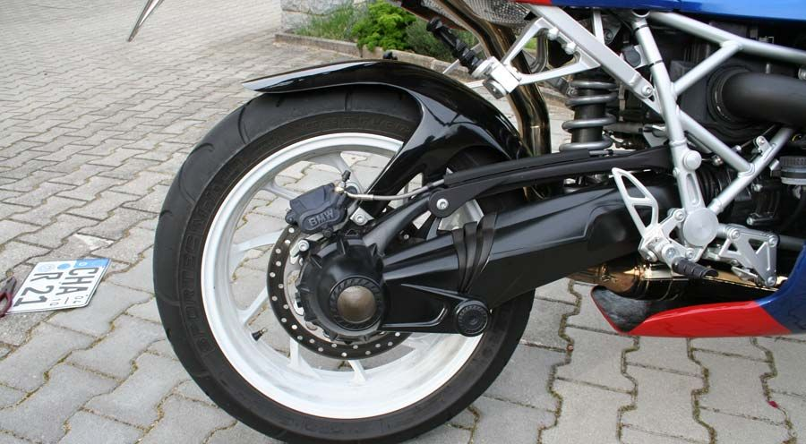 BMW R1200S & HP2 Sport Rear Hugger