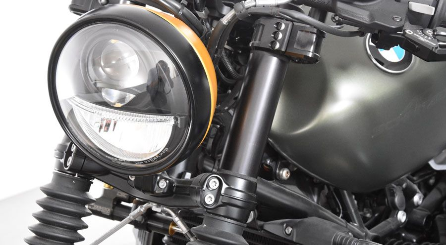 BMW R nine T Standrohrcover