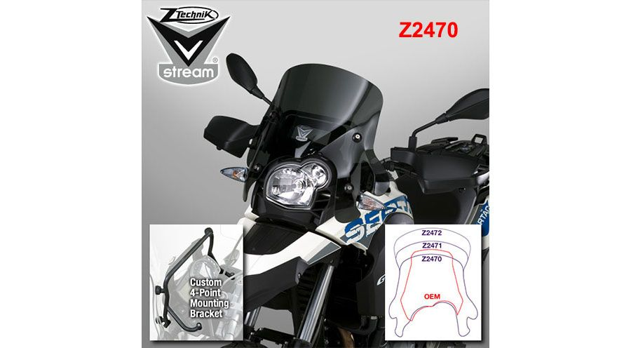 G 650 GS ZTechnik Windschild