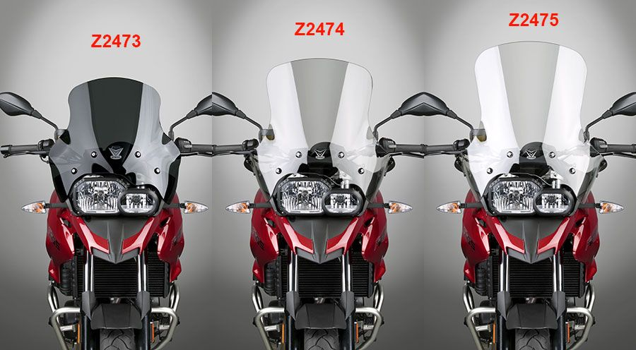 BMW F650GS (08-), F700GS & F800GS ZTechnik Windschild
