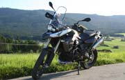 BMW F800GS Windschild