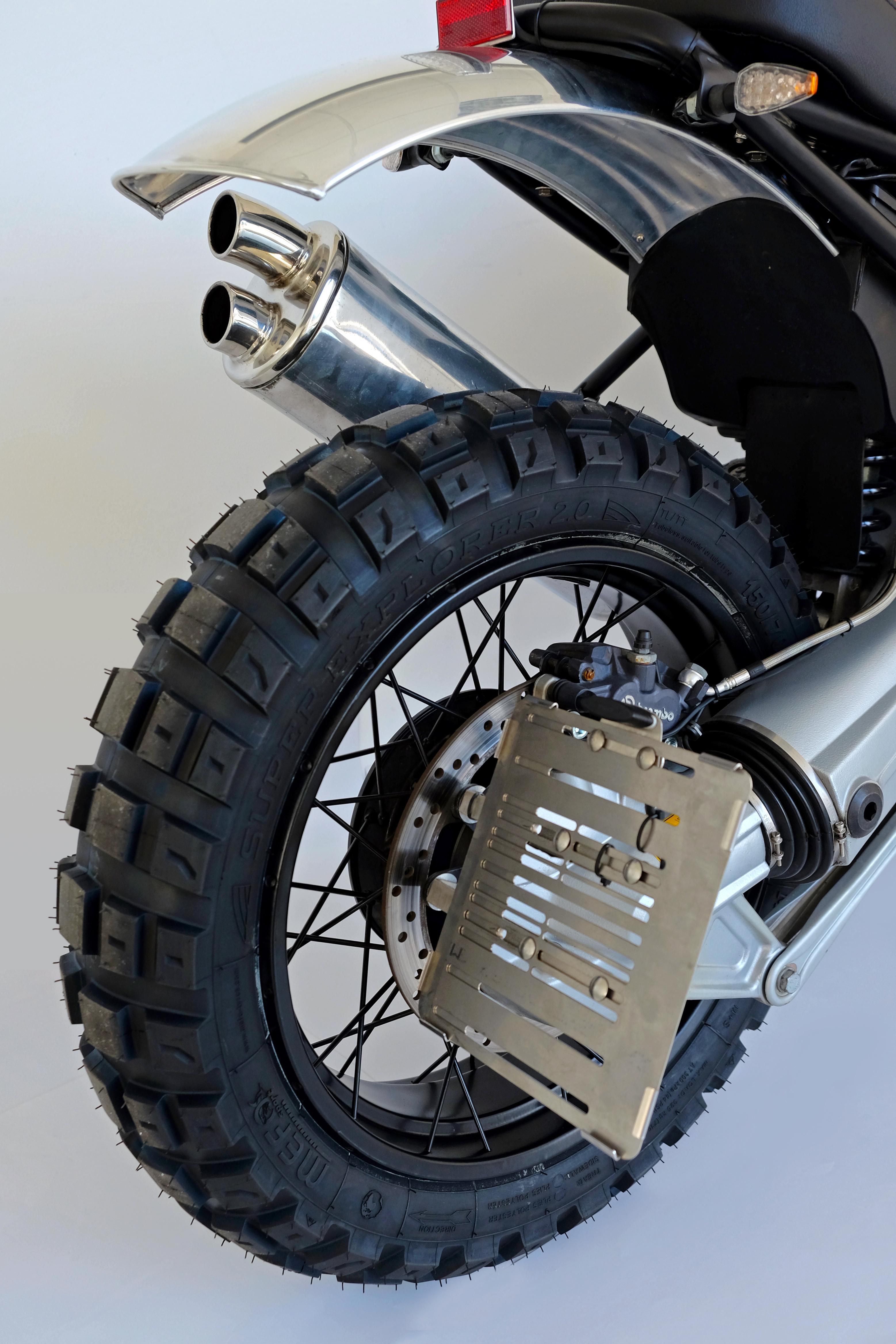 Bmw R1100gs Scrambler Umbau Nach Unserem R1100r Scrambler Vorbild